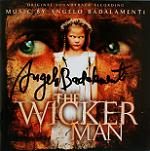 Angelo Badalamenti: The Wicker Man - signed CD
