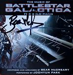 Bear McCreary: The Music of Battlestar Gallactica for solo piano - signed CD