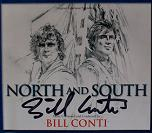 Bill Conti: North and South - signed CD