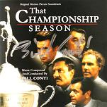 Bill Conti: That Championship Season - signed CD