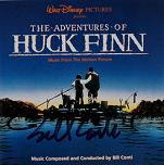 Bill Conti: The Adventures of Huck Finn - signed CD