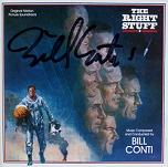 Bill Conti: The Right Stuff - signed CD