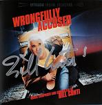 Bill Conti: Wrongfully Accused - signed CD