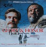 Bruce Broughton: Glory and Honor - signed CD