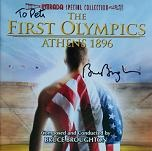 Bruce Broughton - The First Olympics: Athens 1896 - signed CD