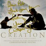 Christopher Young: Creation - signed CD