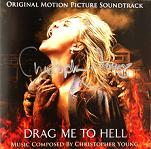 Christopher Young: Drag Me to Hell - signed CD