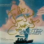 Christopher Young: Haunted Summer - signed CD