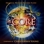 Christopher Young: The Core - signed CD