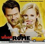 Christopher Young: When in Rome - signed CD