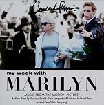 Conrad Pope & Alexandre Desplat: My Week with Marilyn - signed CD