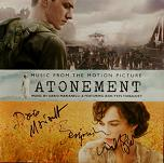Dario Marianelli: Atonement - signed CD