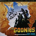 Dave Grusin: The Goonies - signed CD