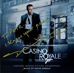 David Arnold: Casino Royale - signed CD