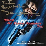 David Arnold: Die Another Day (German) - signed CD