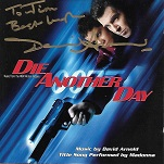 David Arnold: Die Another Day - signed CD