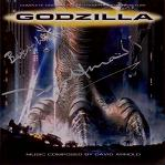 David Arnold: Godzilla - signed CD