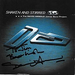 David Arnold: Shaken and Stirred - signed CD