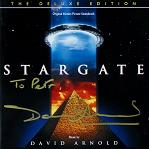 David Arnold: Stargate - signed CD