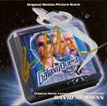 David Newman: Galaxy Quest - signed CD