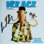 David Newman: Ice Age - signed CD
