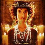 David Newman: The Affair of the Necklace - signed CD