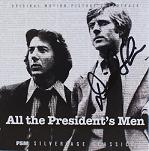 David Shire: All the President's Men - signed CD