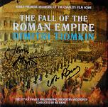 Dimitri Tiomkin: The Fall of the Roman Empire - signed CD