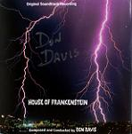 Don Davis: House of Frankenstein - signed CD