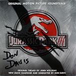 Don Davis & John Williams: Jurassic Park 3 - signed CD