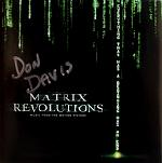 Don Davis: Matrix Revolutions - signed CD