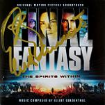 Elliot Goldenthal - Final Fantasy: The Spirits Within - signed CD