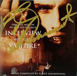 Elliot Goldenthal: Interview with the Vampire - signed CD