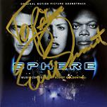 Elliot Goldenthal: Sphere - signed CD
