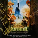 Eric Serra: Arthur and the Invisibles - signed CD