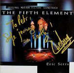 Eric Serra: The Fifth Element - signed CD
