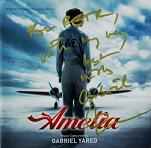 Gabriel Yared: Amelia - signed CD