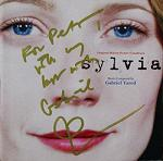 Gabriel Yared: Sylvia - signed CD