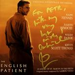 Gabriel Yared: The English Patient - signed CD