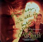 Gabriel Yared: The Talented Mr. Ripley - signed CD