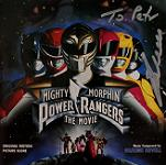 Graeme Revell - Mighty Morphin Power Rangers: The Movie - signed CD