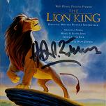 Hans Zimmer & Elton John: The Lion King - signed CD