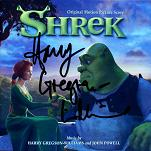 Harry Gregson-Williams and John Powell: Shrek - signed CD