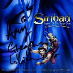 Harry Gregson-Williams - Sinbad: Legend of the Seven Seas - signed CD