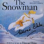 Howard Blake: The Snowman - signed CD