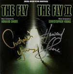 Howard Shore and Christopher Young: The Fly and The Fly 2 - signed CD