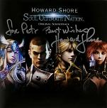 Howard Shore: Soul of the Ultimate Nation - signed CD
