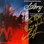 James Horner: Glory - signed CD