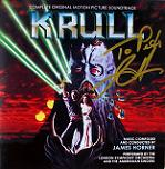 James Horner: Krull - signed CD