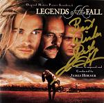 James Horner: Legends of the Fall - signed CD